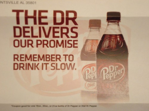 Free Dr Pepper