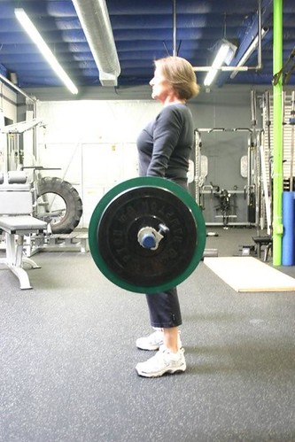 Susan Deadlifting