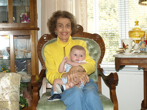 Liam and Great-Grandmother Blanche