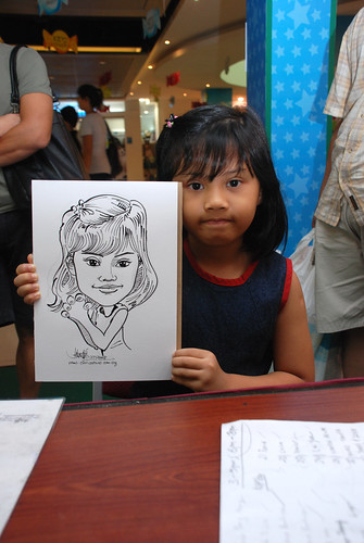 Caricature live sketching for Marina Square Day 2 - 19