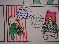 panel 4. (stephiblu) Tags: brooklyn diy craft coloring williamsburg mccarrenpark dauphin renegade craftfair renegadecraftfair etsycomcolorandcaption