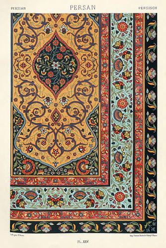 009-Ornamentos policromados persas2-Das polychrome Ornament…1875