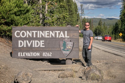 Jeff at the Continental Divide