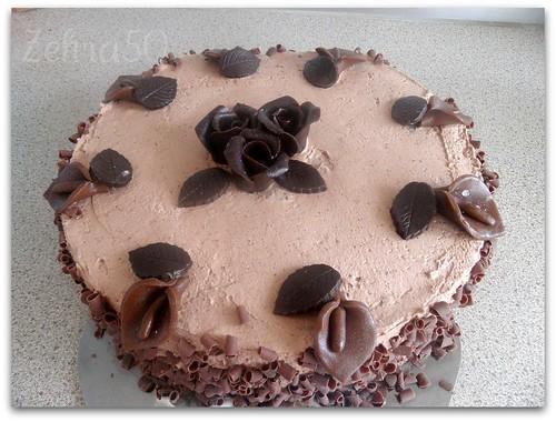 Cikolatali Yas pasta,cocholade taart by zehra50mutfakta