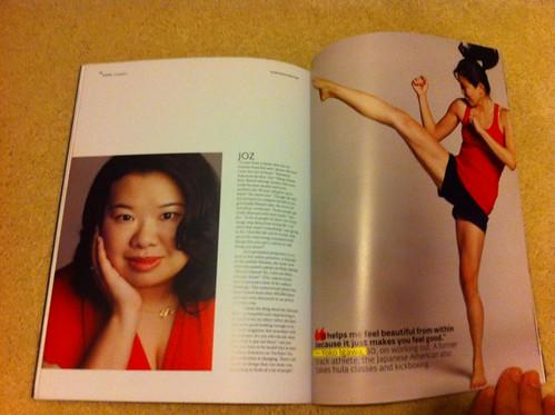 PIC: Yay! I finally got my copy of @AudreyMagazine! Wow, I got a whole page & @Yoko_ too! Gr8 story @themediamaid!