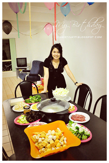 My Lunar Birthday Celebration in April