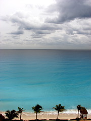 Cancun (robertvena) Tags: ocean blue sea summer color art beach water weather coral landscape mexico photography design waves seasonal palmtrees tropical cancun climate robvena robertvena robertavena