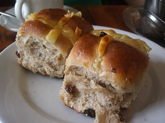 Hot Cross Buns - Chimmy's Bakery, Richmond