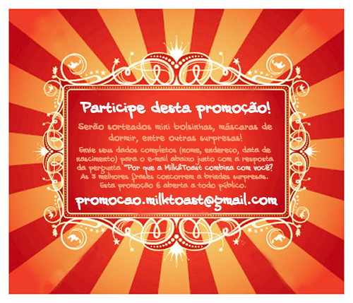 Promoção Milk&Toast combina com você!