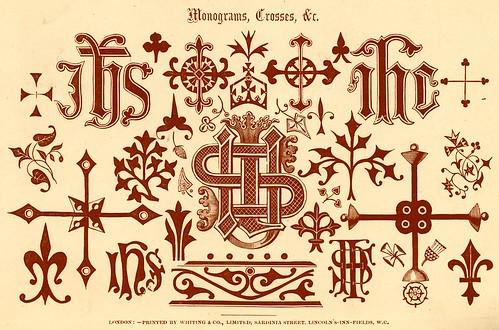 Monogramas-cruces-simbolos religiosos y otros