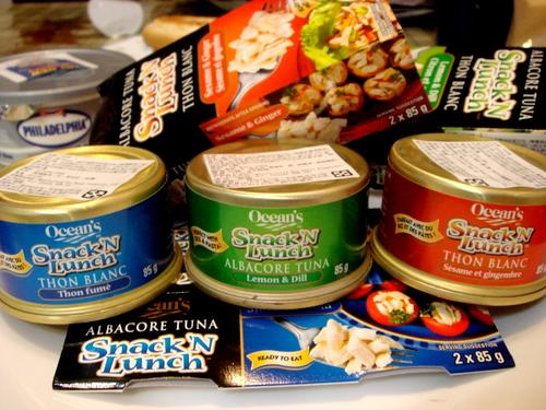 Ocean's 綜合海鮮沙拉組合包