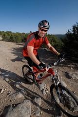One is Enough (benrobertsabq) Tags: bike ride brett tough amputee