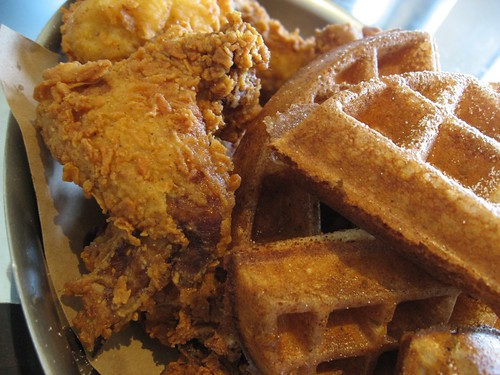 Buttermilk Fried Chicken and Waffles