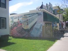 Nicollet Street Car Mural