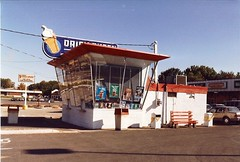 Minnesota, Roseville, Dairy Queen (7,207) (EC Leatherberry) Tags: minnesota dairyqueen modernist 1947 driveinrestaurant ramseycounty rosevilleminnesota