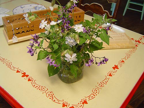 wild flowers in the store