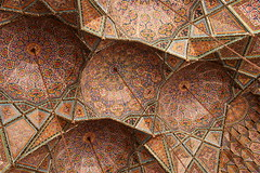 Nasir-ol-Molk Mosque (**El-Len**) Tags: travel iran persia mosque ceiling dome shiraz tilework fav10 nasirolmolk