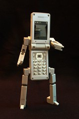 DX PHONE BRAVER 7 ROBOT MODE