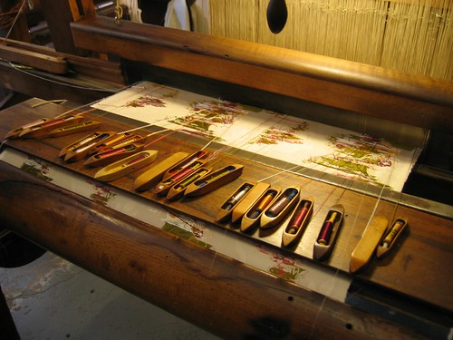 Weaving Brocade