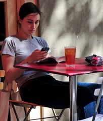 Iced tea at Georgia's