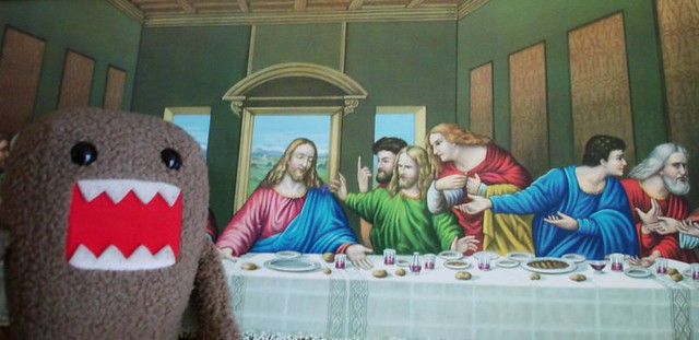Domo crashes The Last Supper