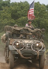 M3 Half track (delta23lfb) Tags: flag military cycle m3 reenactment usflag halftrack usarmy livinghistory bycycle warandpeace militaryvehicle warandpeaceshow m3halftrack warandpeaceshow2008