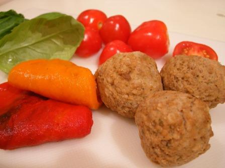 Sher's Pork Ricotta Meatballs