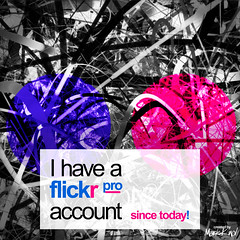 flickr pro account - since today (mark knol) Tags: abstract motion art logo flickr flash since generative pro fractal account today flickrpro actionscript generativeart flickrproaccount 03082008 markknol 3rdofaugust