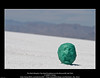 The Matt Murphy Clay Head Sculpture on the Bonneville Salt Flats