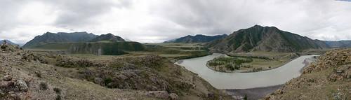 Панорама Монголия.