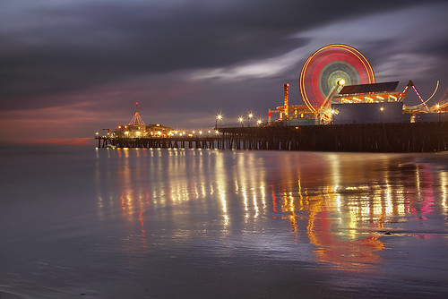 Santa Monica Spin #2 by PatrickSmithPhotography