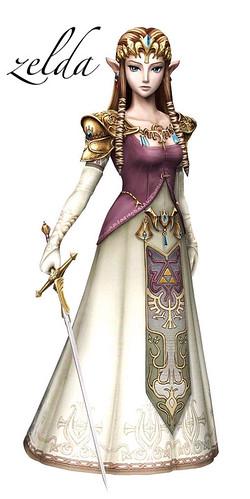 Leyenda princesa Zelda Nintendo