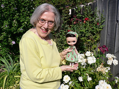 My Mother With Her Blythe