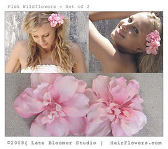 Pink_Flower_Hair_Clips (hairflowers.com) Tags: flower hair silk gardenia flowerhairclip flowerforhair flowerhairpin weddinghairflowerflowerhairclipsweddinghairflowerssilkflowerhairclips bridalflowerhairclip weddingflowerhair gardeniaflowerforhair