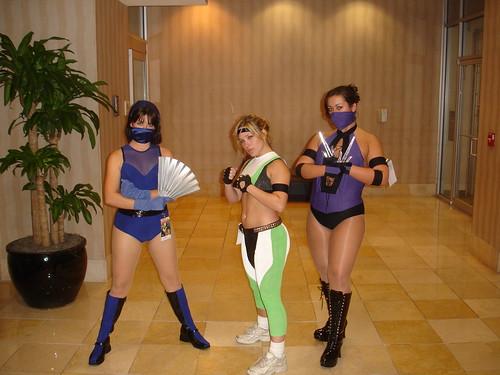 mortal kombat characters. Mortal Kombat Girls