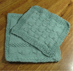Field of Butterflies Facecloth (Poopshe_Bear) Tags: butterfly knitting handmade butterflies knit handknit dishcloth cotton knitted spa washcloth facecloth