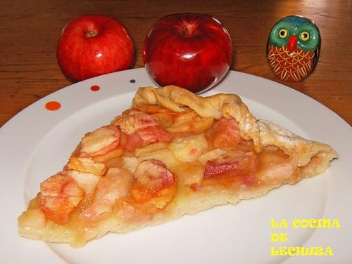 Tarta de manzana Boa-porción