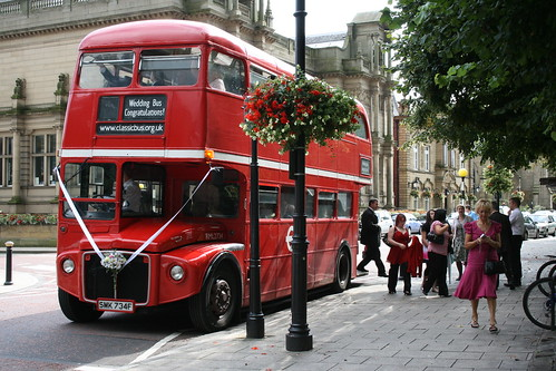 wedding routemaster