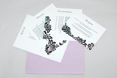 Bold Pocketfold Invitation