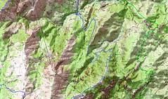 Carte Trek Basseta étape 3 (parcours Dominique Treillard en 07/2008)