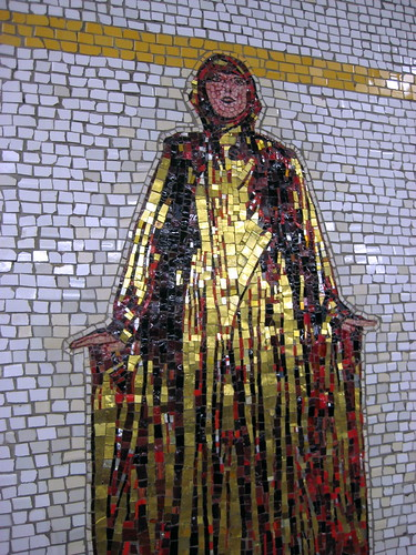 Mosaic at 66th Street Metro Station