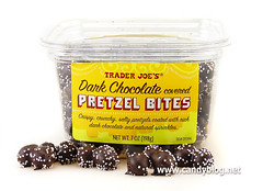 Trader Joe's Dark Chocolate Covered Pretzel Bites