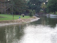 action! (Ron,Ron,Ron) Tags: park lake wet water reflections stlouis missouri saintlouis 2008 manmadelake parklake sept08 carondeletpark nikond90 manmadewaterfeature