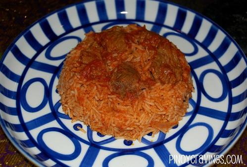 Beef Kabsa at Ziggurat Cuisine