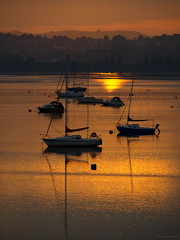 Back home (ExeDave) Tags: uk england sunrise river landscape boats dawn yacht estuary explore devon gb yachts soe waterscape exe starcross interestingness500 exeestuary teignbridge diamondclassphotographer flickrdiamond moreorlessastaken