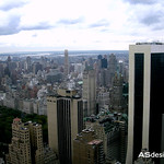 New York travel - View of my step father flat