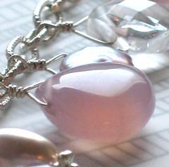 Think Pink! Charm bracelet