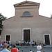 First student concert, market square, Certaldo Basso
