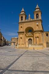Lady of Pompeii Parish Church (Kanmuri) Tags: summer sun holiday 20d canon malta 1740mml