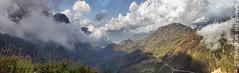 Cloud covered Hoang Lien Mountain (Cuong T Tran Photography) Tags: panorama mountain art vietnam hdr sapa fansipan hoanglienson